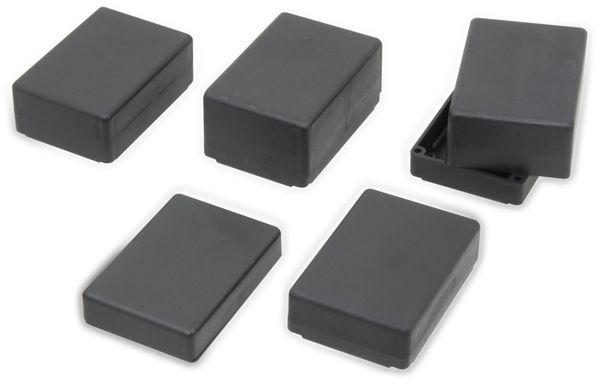 Kunststoff Kleingehäuse DONAU ELEKTRONIK, KG15M, schwarz