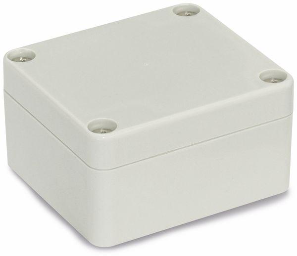 Modulgehäuse ABS, 64x58x35 mm, IP65, lichtgrau - Produktbild 1