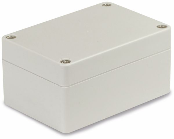 Modulgehäuse ABS, 100x68x50 mm, IP65, lichtgrau