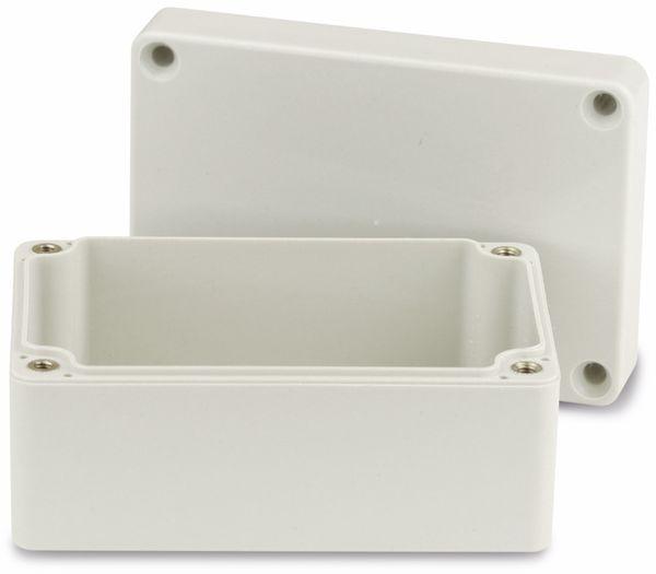 Modulgehäuse ABS, 100x68x50 mm, IP65, lichtgrau - Produktbild 2
