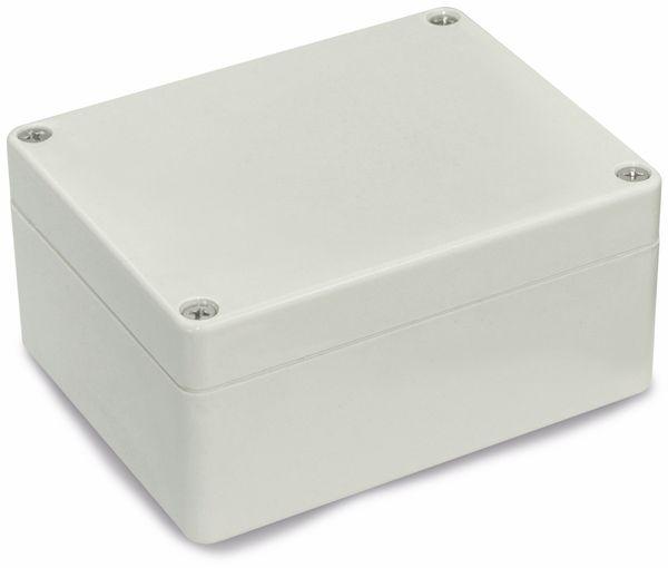 Modulgehäuse ABS, 115x90x55 mm, IP65, lichtgrau