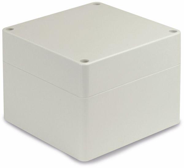 Modulgehäuse ABS, 120x120x90 mm, IP65, lichtgrau - Produktbild 1