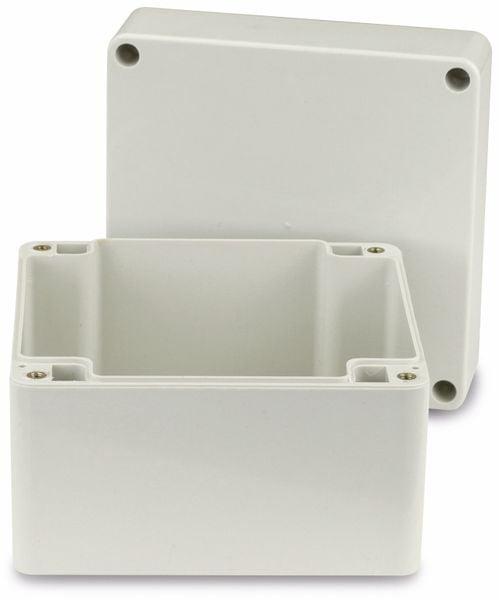 Modulgehäuse ABS, 120x120x90 mm, IP65, lichtgrau - Produktbild 2