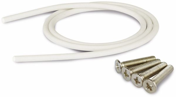 Modulgehäuse ABS, 120x120x90 mm, IP65, lichtgrau - Produktbild 4
