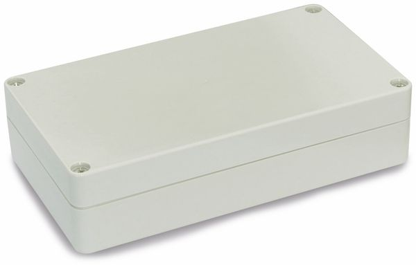 Modulgehäuse ABS, 158x90x40 mm, IP65, lichtgrau