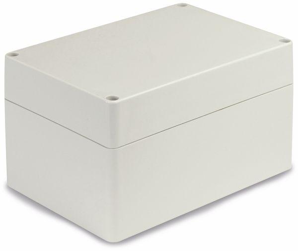 Modulgehäuse ABS, 160x110x90 mm, IP65, lichtgrau - Produktbild 1