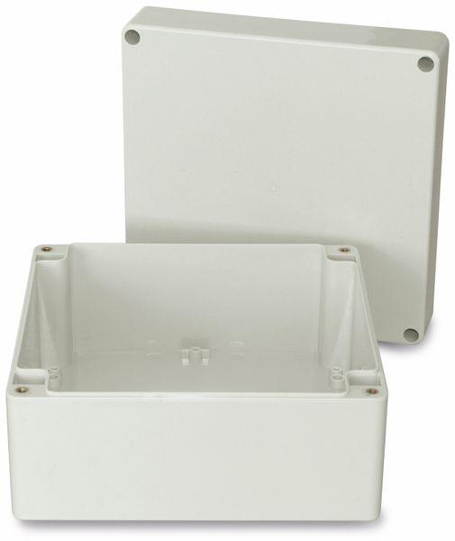 Modulgehäuse ABS, 160x160x90 mm, IP65, lichtgrau - Produktbild 2