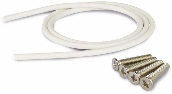 Modulgehäuse ABS, 200x120x56 mm, IP65, lichtgrau - Produktbild 4