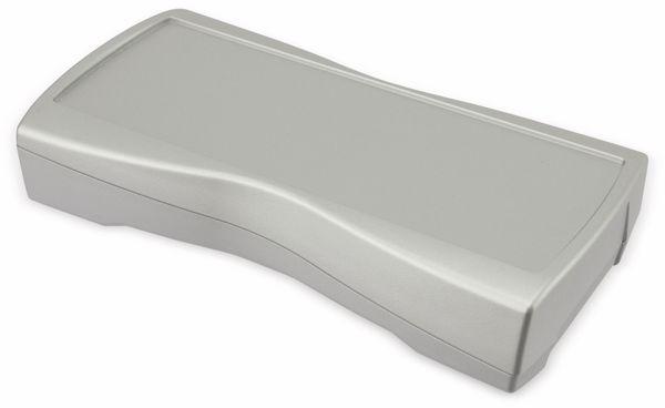 Handgehäuse, BOPLA, BS 601-F-S, Kunststoff, silber - Produktbild 1