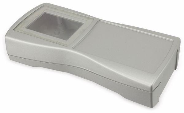 Handgehäuse, BOPLA, BS 603 DIS-S, Kunststoff, silber - Produktbild 1