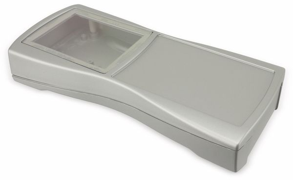 Handgehäuse, BOPLA, BS 800 DIS-S, Kunststoff, silber - Produktbild 1