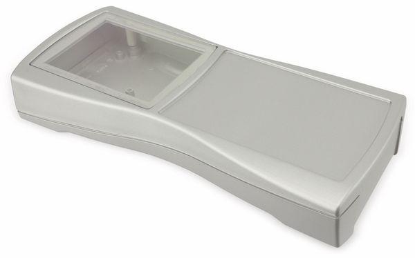 Handgehäuse, BOPLA, BS 804 DIS-S, Kunststoff, silber - Produktbild 1