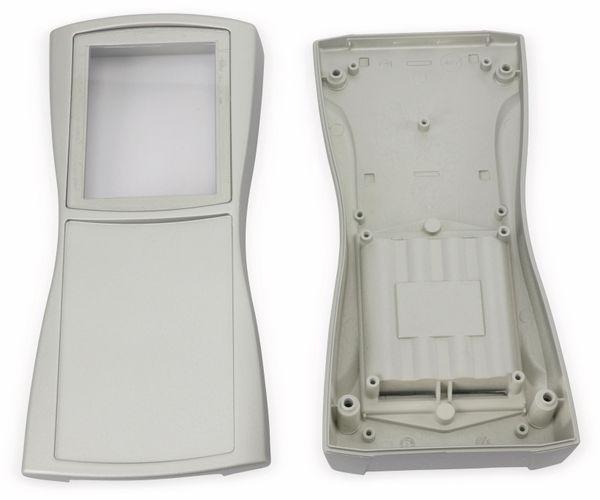 Handgehäuse, BOPLA, BS 804 DIS-S, Kunststoff, silber - Produktbild 2