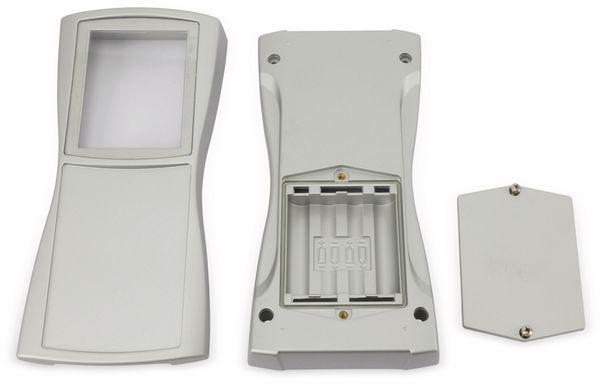 Handgehäuse, BOPLA, BS 804 DIS-S, Kunststoff, silber - Produktbild 3