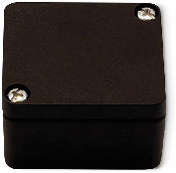 Alu-Gehäuse Efabox, 50x45x30 mm, schwarz, IP68