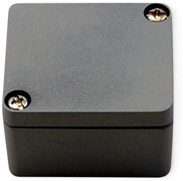 Alu-Gehäuse Efabox, 50x45x30 mm, grau, IP68