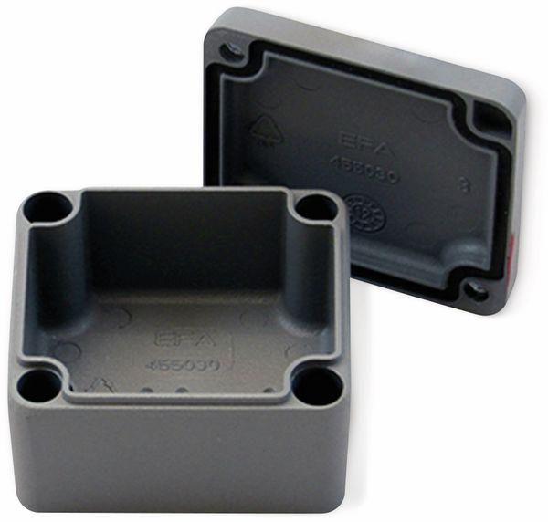 Alu-Gehäuse Efabox, 50x45x30 mm, grau, IP68 - Produktbild 2