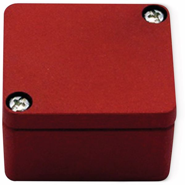 Alu-Gehäuse Efabox, 50x45x30 mm, rot, IP68