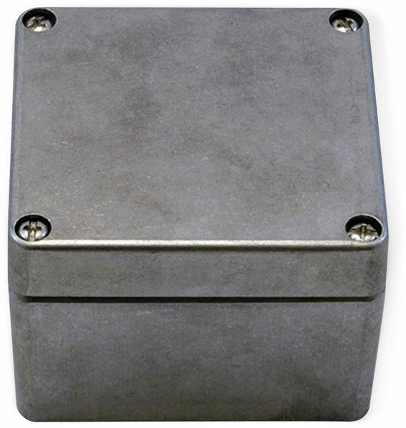 Alu-Gehäuse Efabox, 80x75x57 mm, blank, IP68