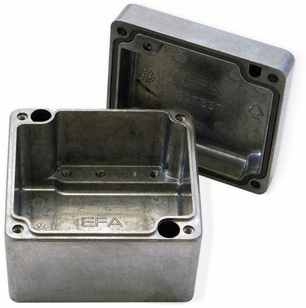 Alu-Gehäuse Efabox, 80x75x57 mm, blank, IP68 - Produktbild 2