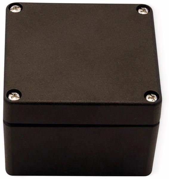 Alu-Gehäuse Efabox, 80x75x57 mm, schwarz, IP68