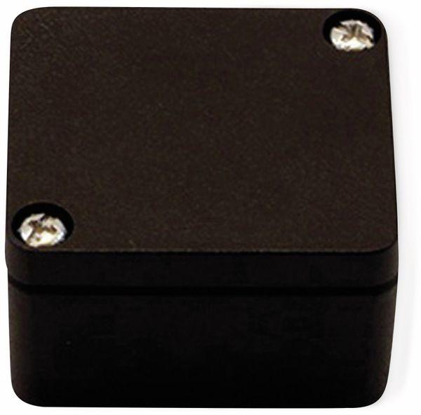Alu-Gehäuse Efabox, 80x75x57 mm, schwarz, IP68 - Produktbild 2