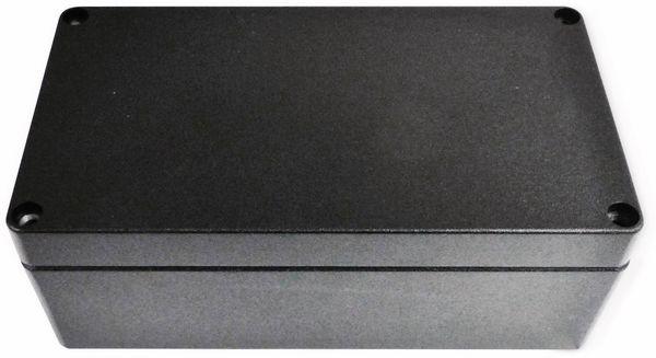 Alu-Gehäuse Efabox, 220x120x81 mm, schwarz, IP68
