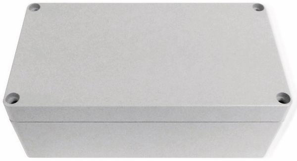 Alu-Gehäuse Efabox, 220x120x81 mm, grau, IP68