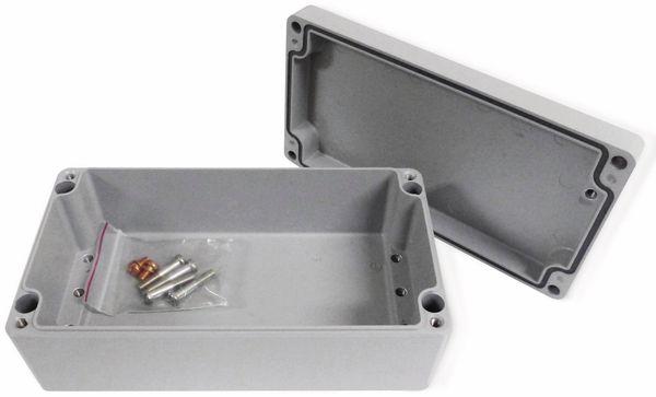 Alu-Gehäuse Efabox, 220x120x81 mm, grau, IP68 - Produktbild 2