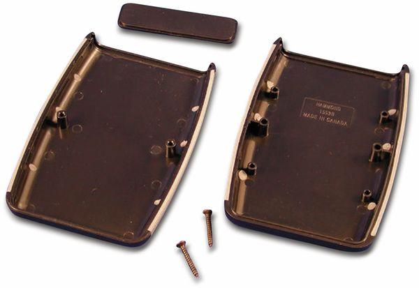 Hammond, Handgehäuse, 1553BBK, 117 x 79 x 24