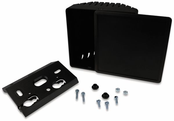 IoT Universalgehäuse, AXXATRONIC, CamdenBoss CB1500-10VBK-KIT, schwarzes IoT Gehäuse