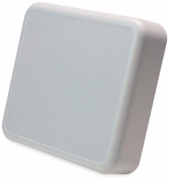 Raumsensorgehäuse, AXXATRONIC, CamdenBoss CBRS01SWH, weiß 86x86x25,5mm
