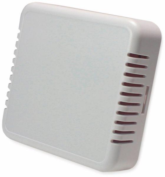 Raumsensorgehäuse, AXXATRONIC, CamdenBoss CBRS01VWH, weiß, Lüftungsschlitze, 86x86x25,5mm