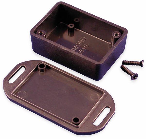 Hammond, Miniaturgehäuse, 1551GFLBK, 50 x 35 x 20