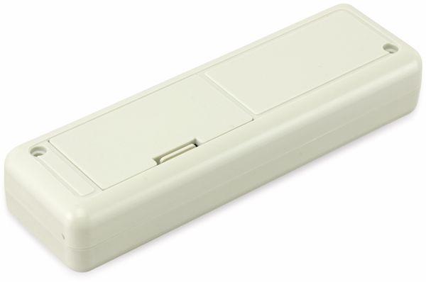 Kunststoffgehäuse mit Batteriefach, STRAPUBOX, Typ 6090 GR, 129 x 40 x 24 mm - Produktbild 2