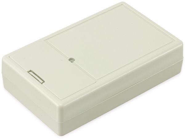 Kunststoffgehäuse mit Batteriefach, STRAPUBOX, Typ 6000 GR, 103 x 62 x 26 mm - Produktbild 2