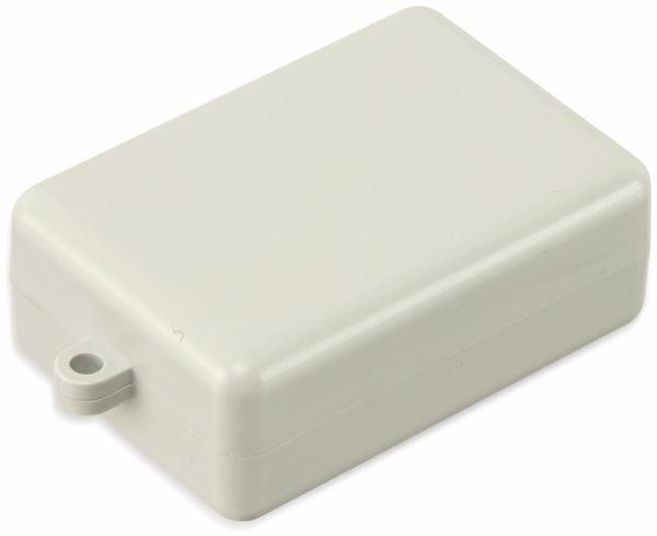 Kunststoffgehäuse mit Öse, STRAPUBOX, Typ 2043 GR, 53 x 37 x 20 mm