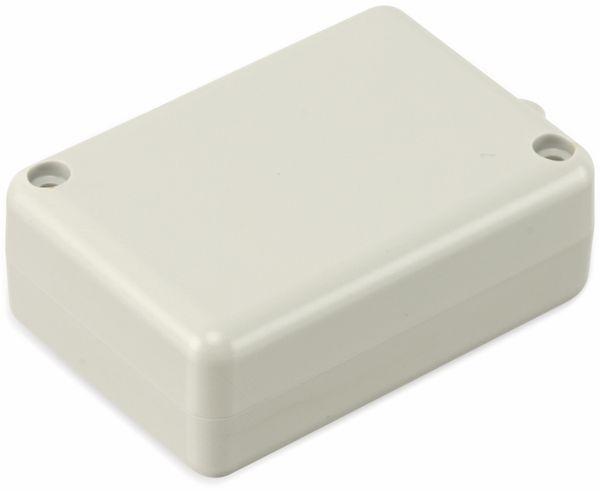 Kunststoffgehäuse mit Öse, STRAPUBOX, Typ 2043 GR, 53 x 37 x 20 mm - Produktbild 2