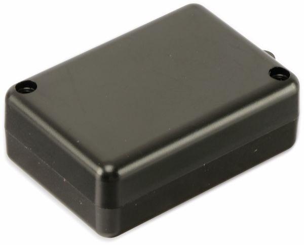 Kunststoffgehäuse mit Öse, STRAPUBOX, Typ 2043 SW, 53 x 37 x 20 mm - Produktbild 2