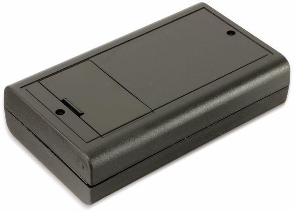Kunststoffgehäuse mit Batteriefach, STRAPUBOX, Typ 6512 SW, 124 x 71 x 30 mm - Produktbild 2