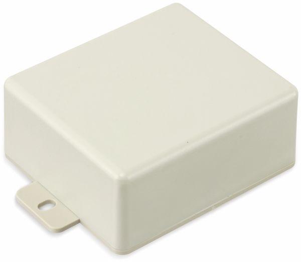 Kunststoffgehäuse mit Lasche, STRAPUBOX, Typ CO 4 GR, 70 x 60 x 30 mm