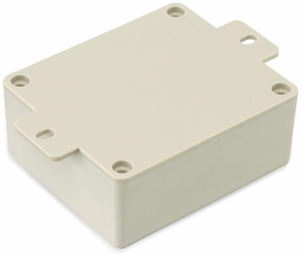 Kunststoffgehäuse mit Lasche, STRAPUBOX, Typ CO 4 GR, 70 x 60 x 30 mm - Produktbild 2