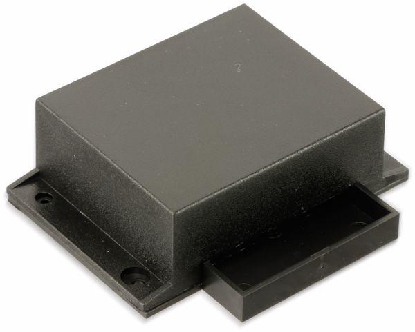 Kunststoffgehäuse mit Wanne und Lasche, STRAPUBOX, Typ 521, 54 x 45 x 21 mm