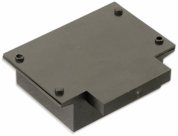 Kunststoffgehäuse mit Wanne und Lasche, STRAPUBOX, Typ 521, 54 x 45 x 21 mm - Produktbild 2
