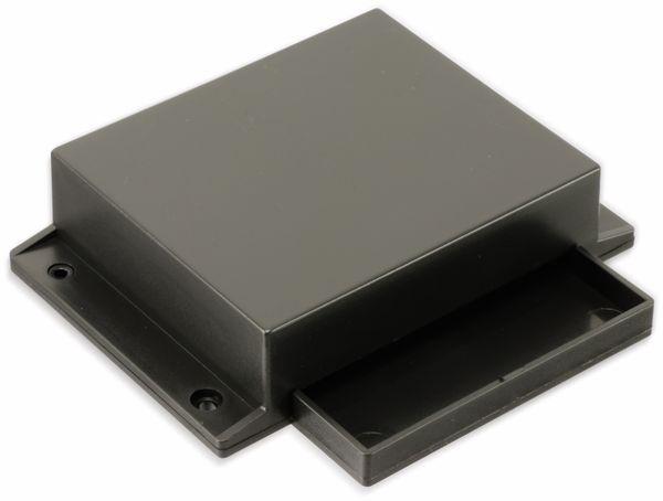 Kunststoffgehäuse mit Wanne und Lasche, STRAPUBOX, Typ 523, 79 x 67 x 31 mm