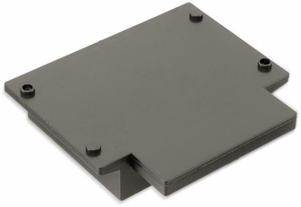 Kunststoffgehäuse mit Wanne und Lasche, STRAPUBOX, Typ 523, 79 x 67 x 31 mm - Produktbild 2
