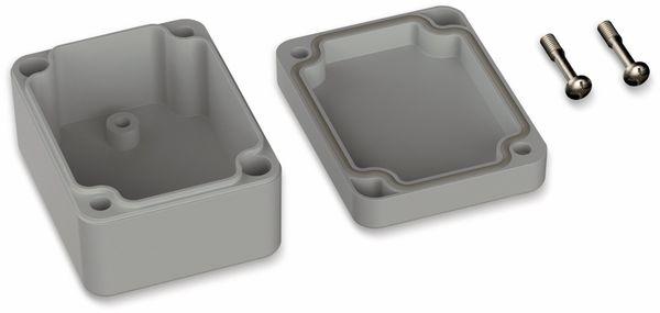 POLLIN, Polycarbonat Gehäuse, 65 x 50 x 35 mm, IP66, Lichtgrau - Produktbild 2