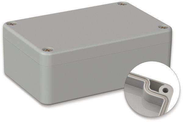 POLLIN, Polycarbonat Gehäuse, 98 x 64 x 36,4 mm, IP66, Lichtgrau