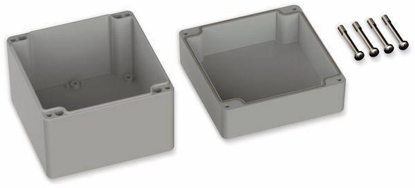 POLLIN, Polycarbonat Gehäuse, 122 x 120 x 105 mm, IP66, Lichtgrau - Produktbild 2