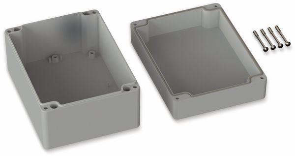POLLIN, Polycarbonat Gehäuse, 160 x 120 x 90 mm, IP66, Lichtgrau - Produktbild 2